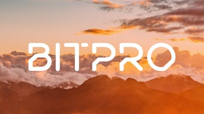 01 Bitpro Logo sunset 1400x788px