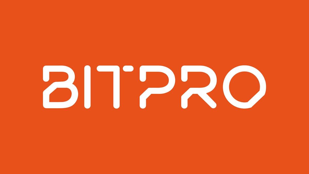 02 Bitpro logo 1400x788px