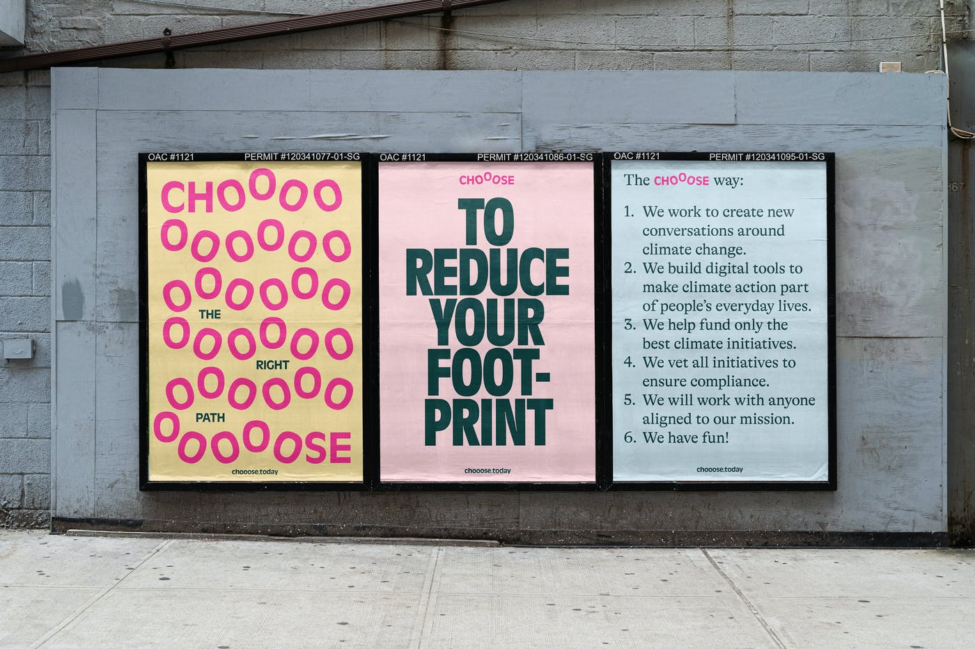 2 chooose posters