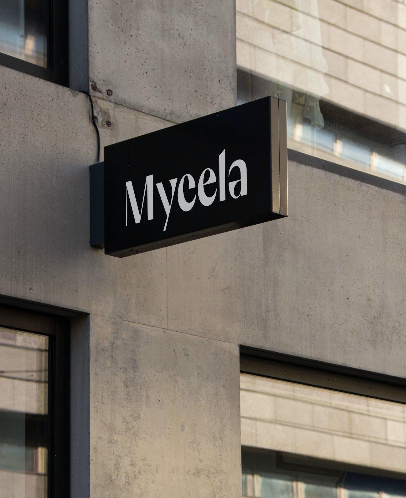 4 Mycela signage