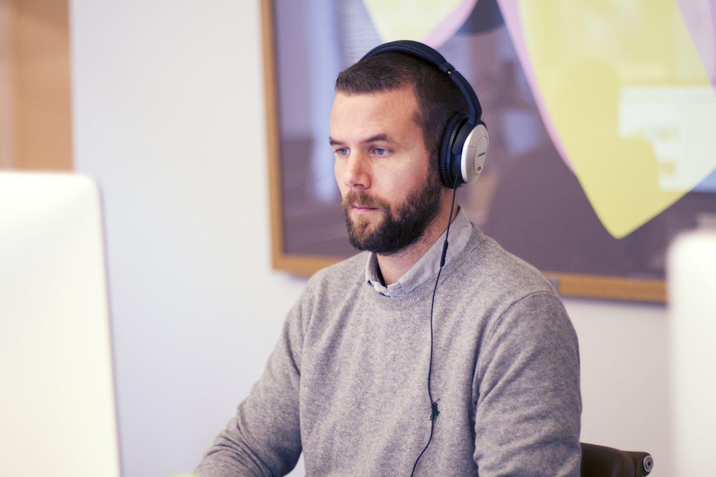 Designer Christian Solemsli Lauritzen.