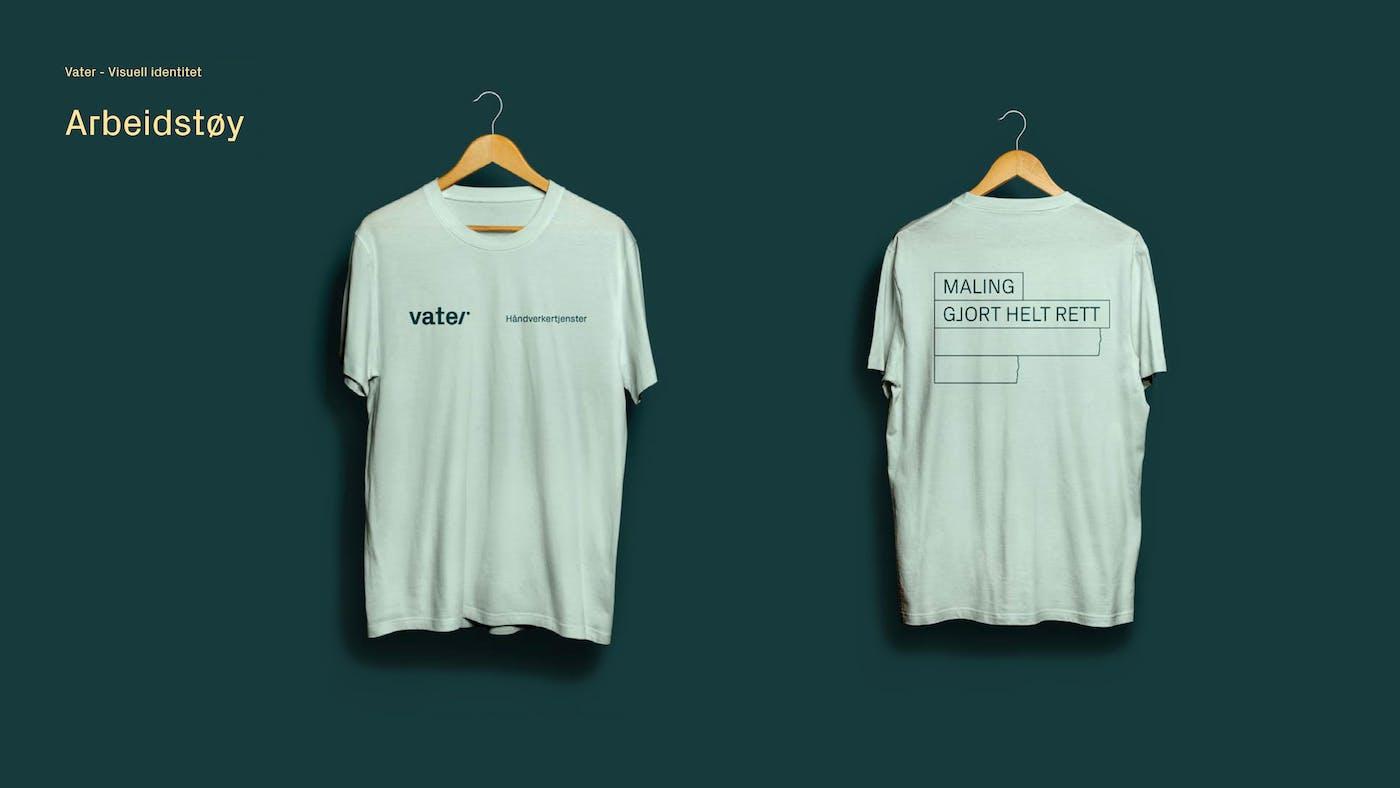 6 Vater T skjorte