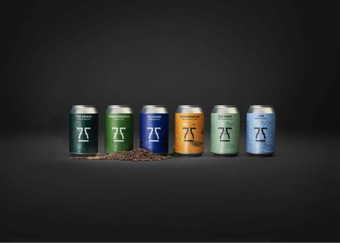 7 Fjell Cans Lineup