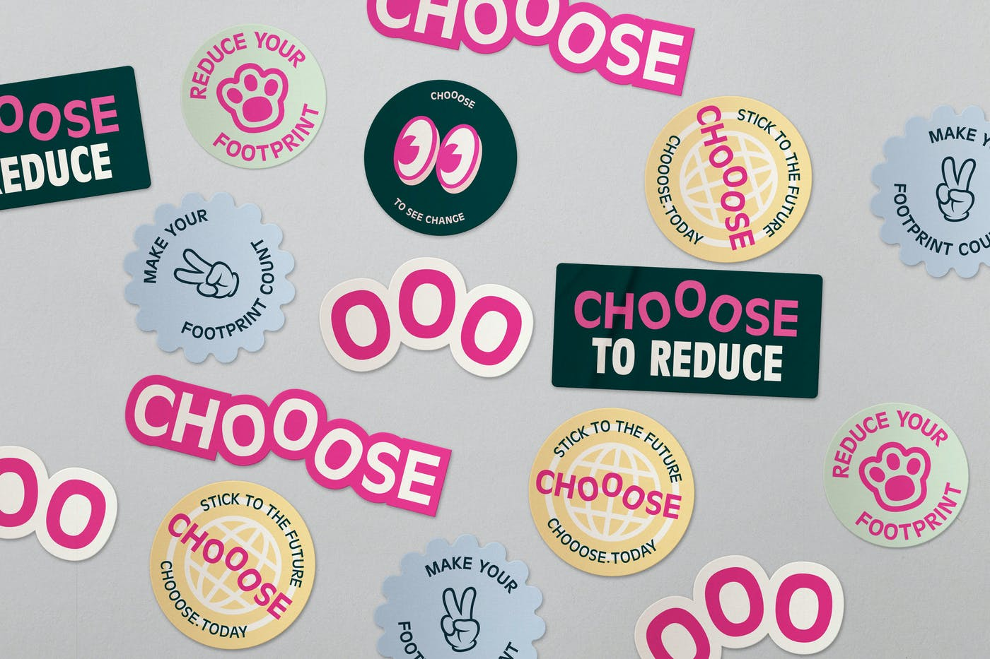 7 chooose stickers