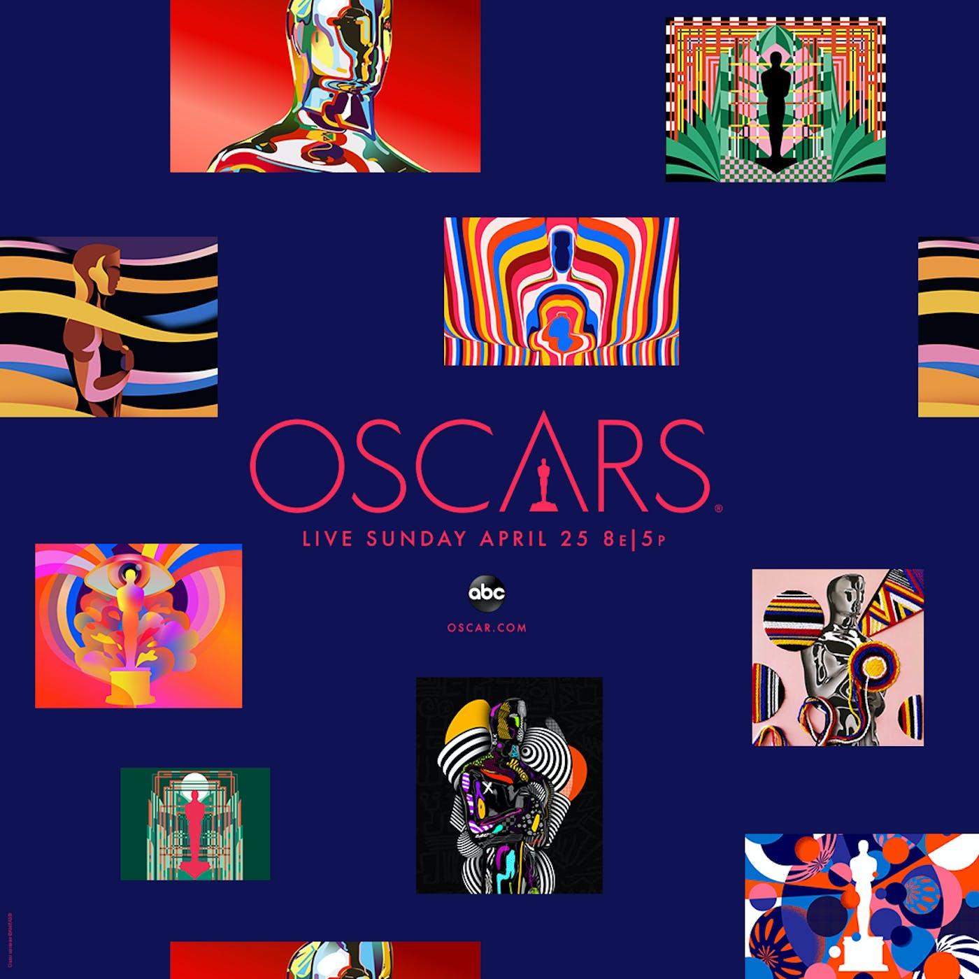 93 Oscars KA Poster Square 1080x1080 Navy