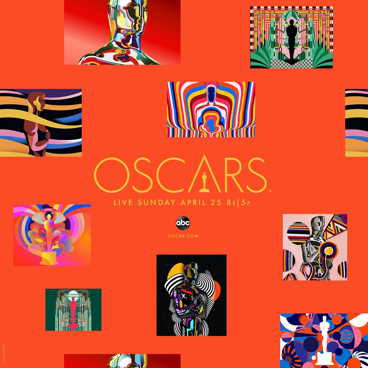 93 Oscars KA Poster Square 1080x1080 Orange