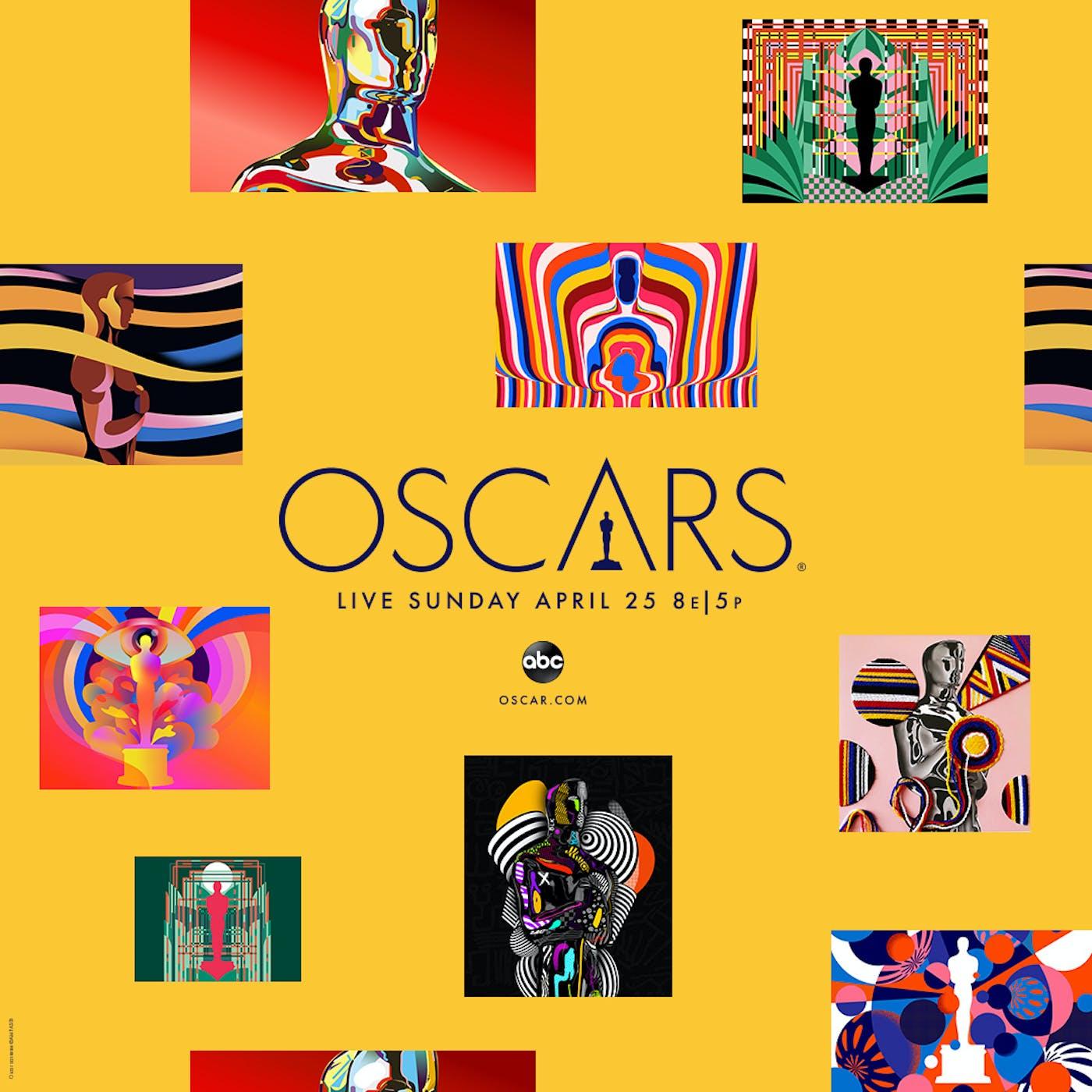 93 Oscars KA Poster Square 1080x1080 Yellow