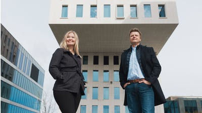 Agnete Enga og Tom G Johansen 1