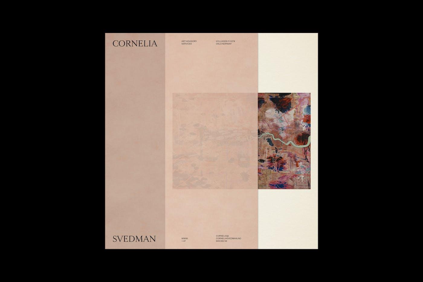 Cornelia Svedman Artist Cover
