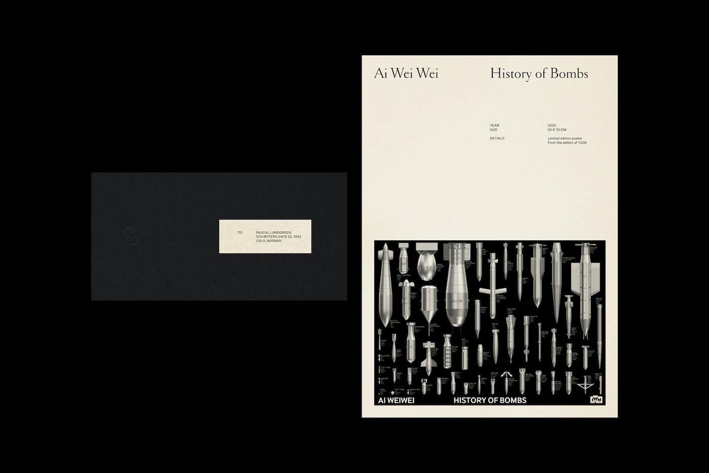 Cornelia Svedman Letter Ai Wei Wei