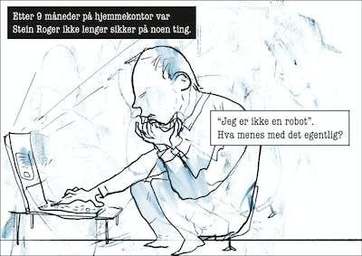 En Robot Et Bransje Liv