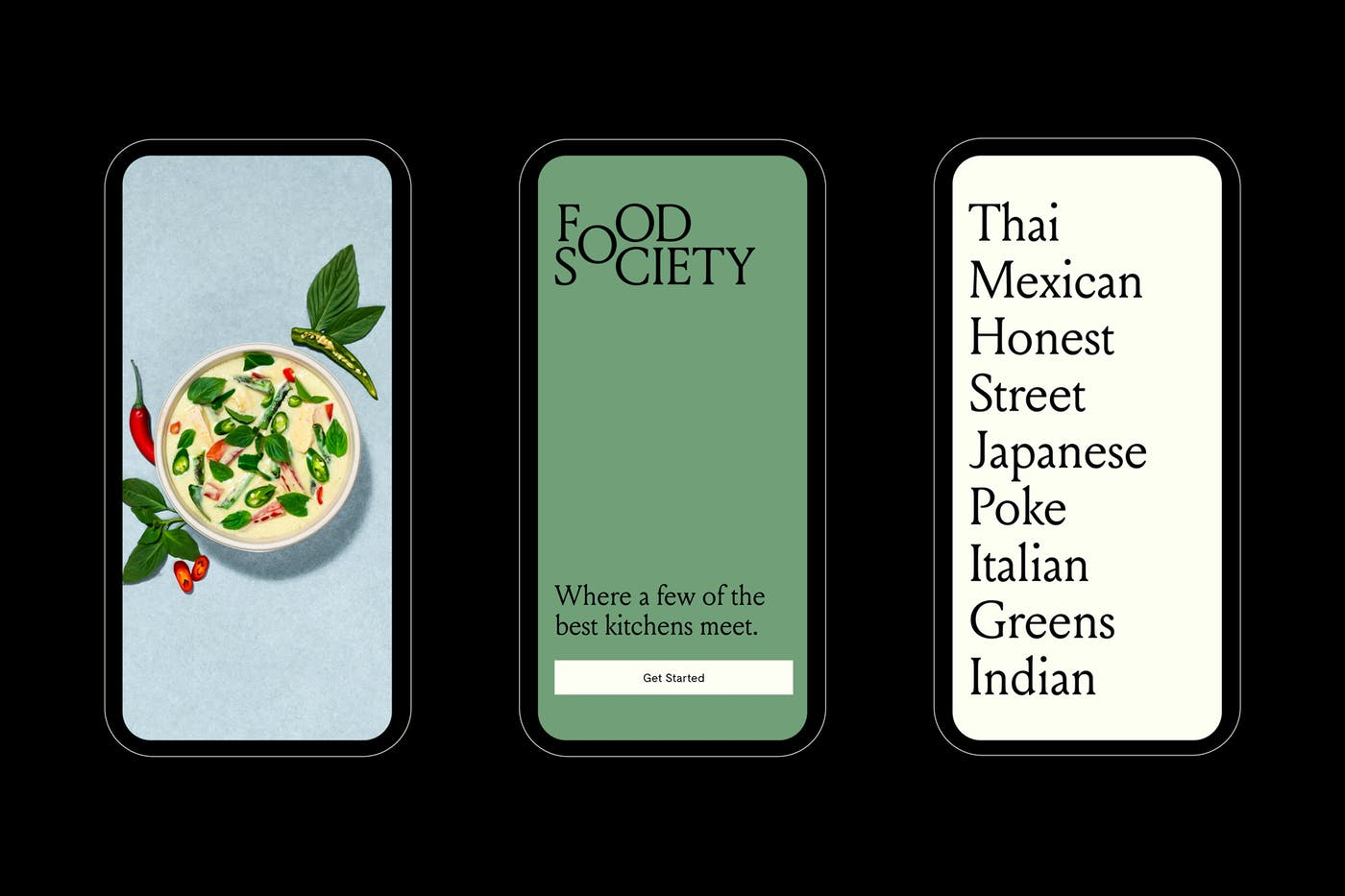 Food Society Mobile 01
