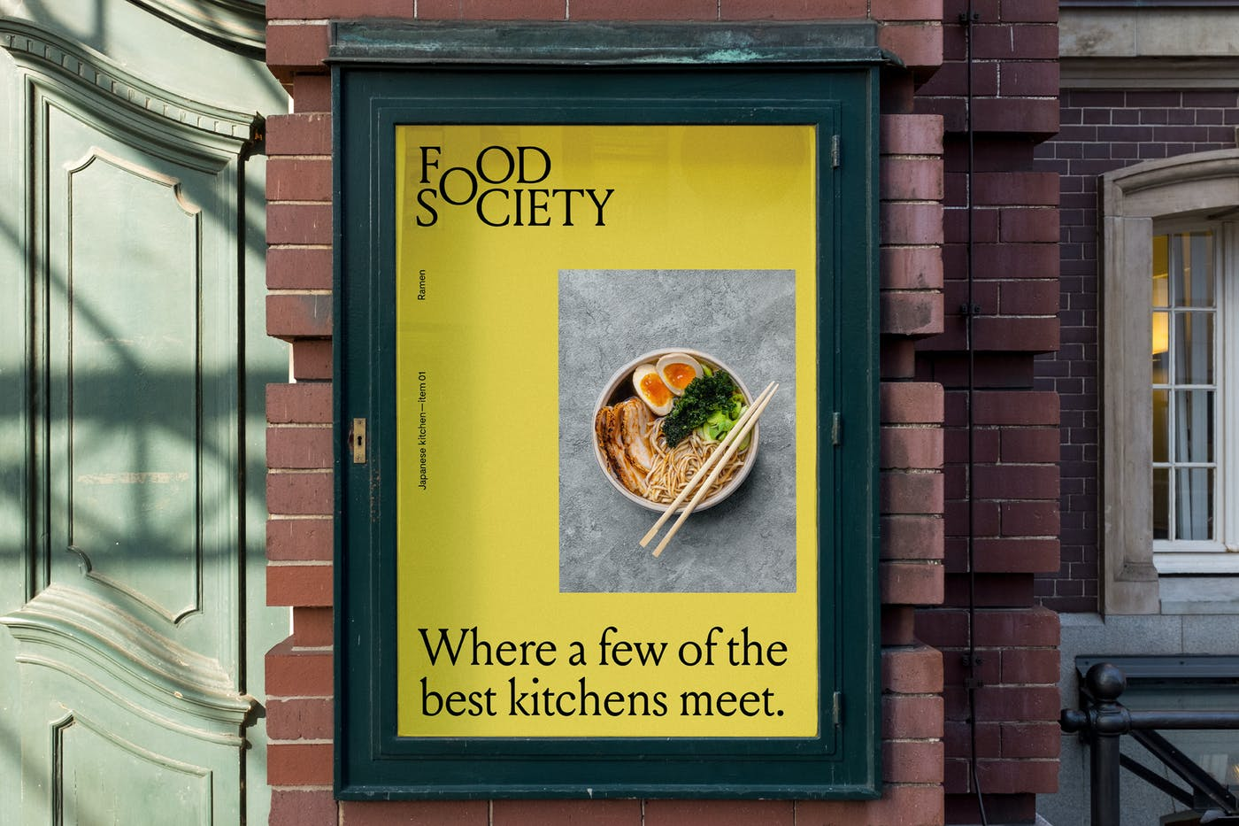 Food Society Street Poster 01