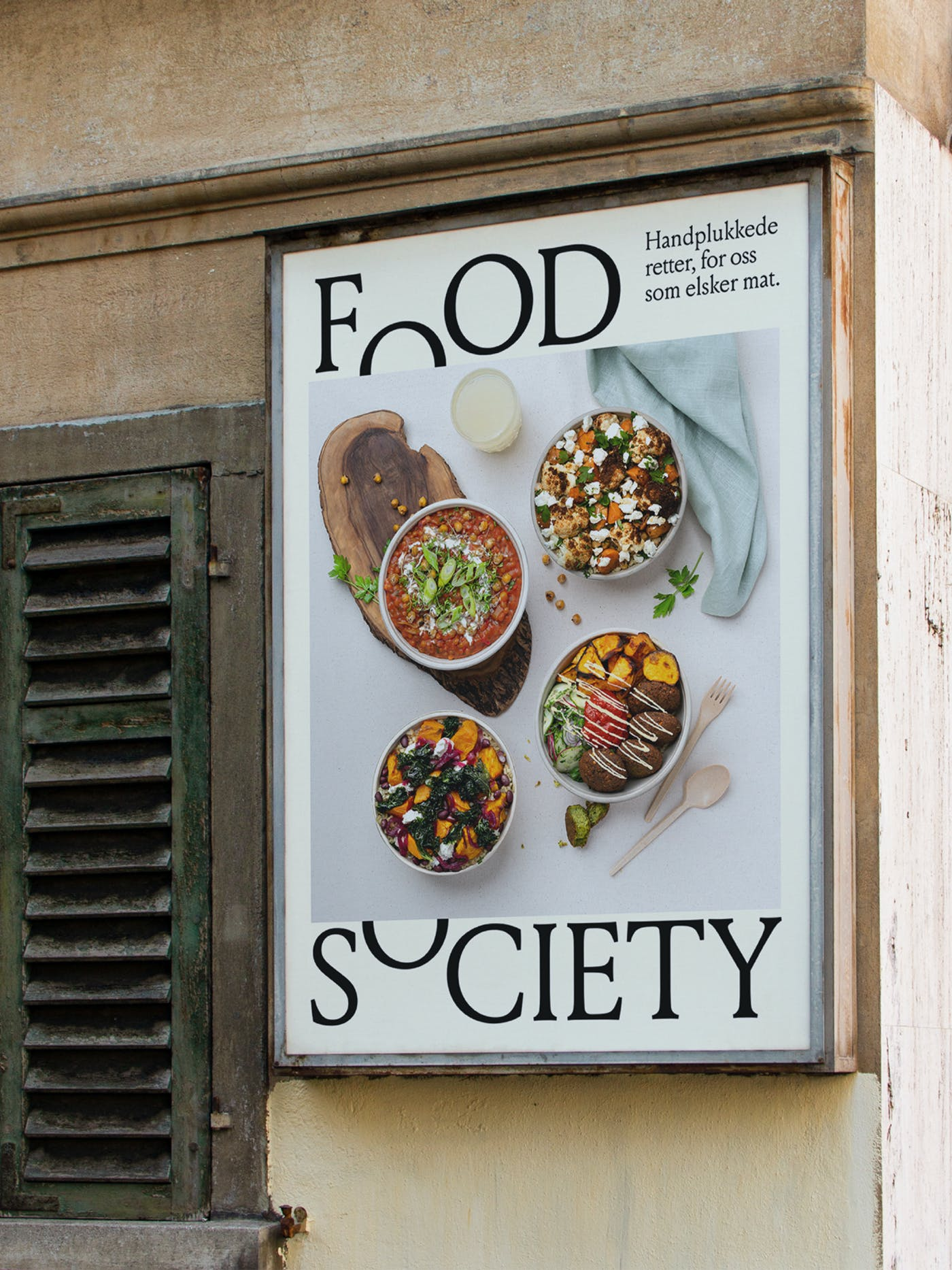 Food Society Street Poster 03