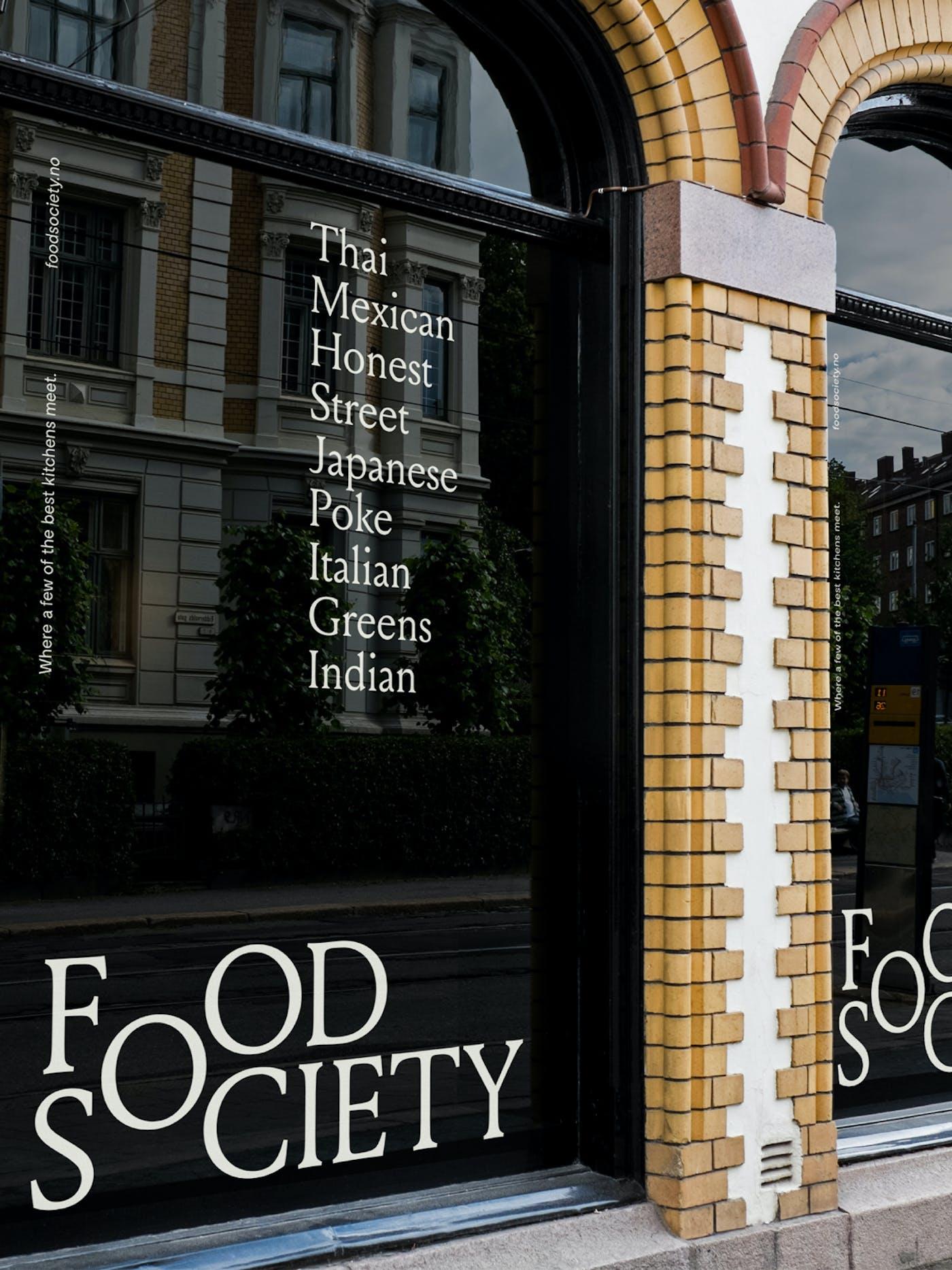 Food Society Window