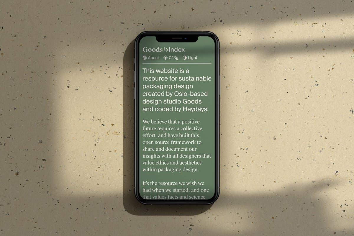 Goods Index Mobile2