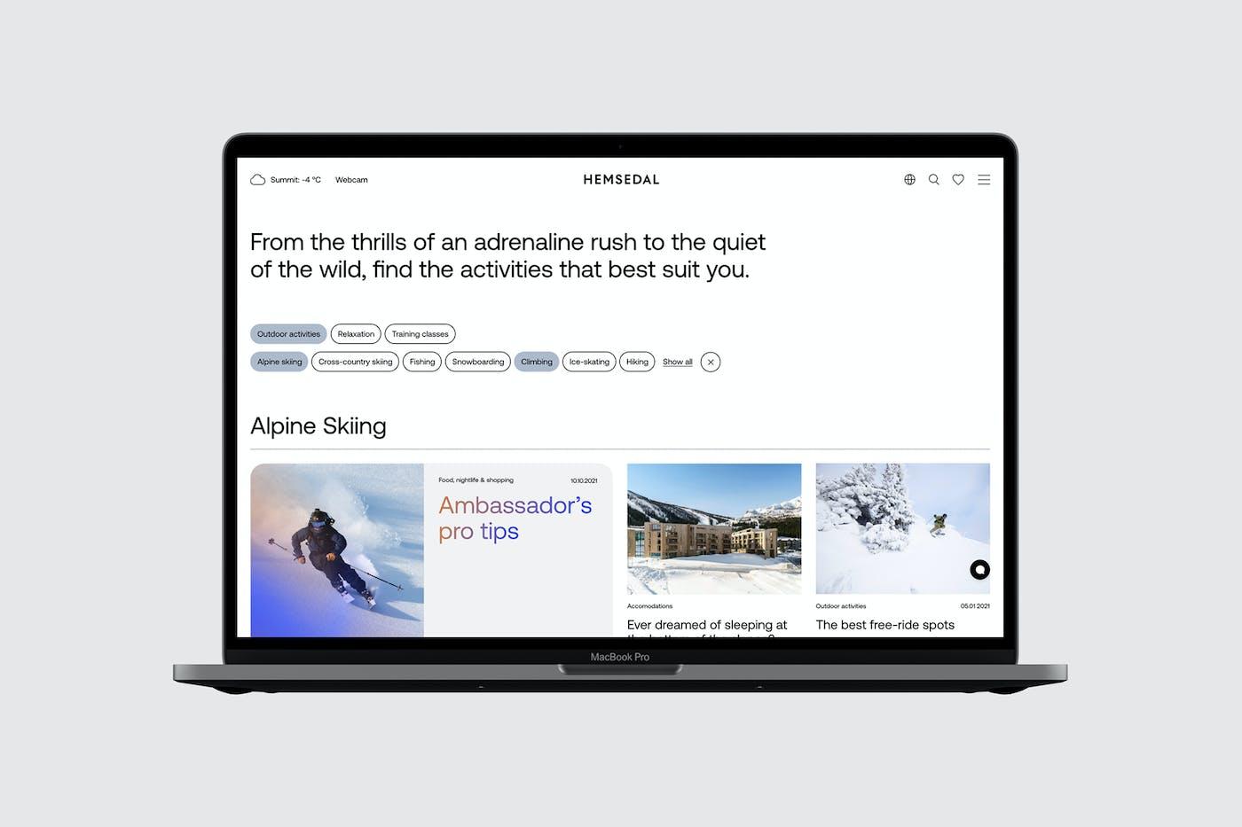 Hemsedal Website Flat03