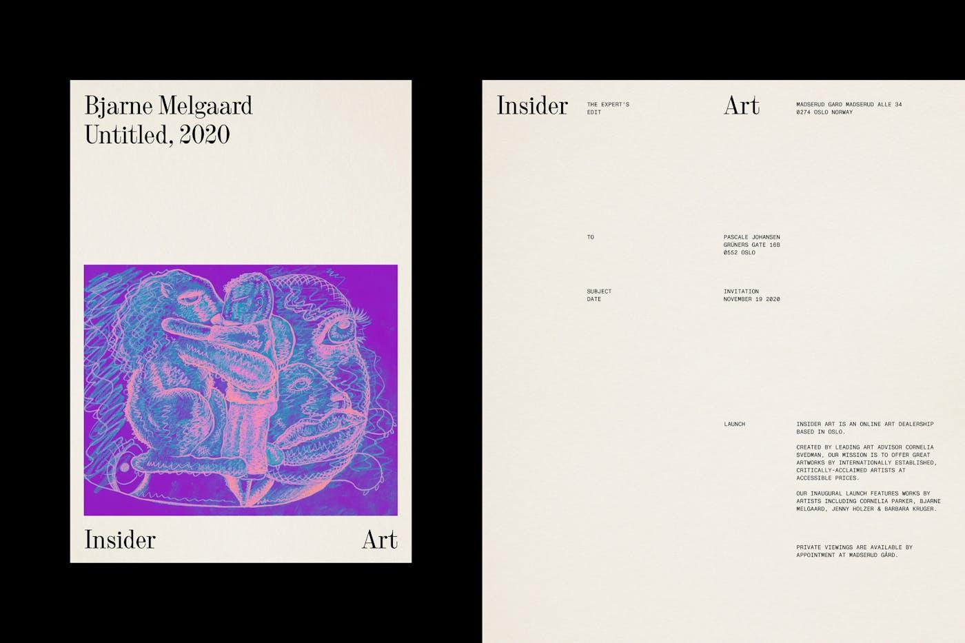 Insider Art Invite