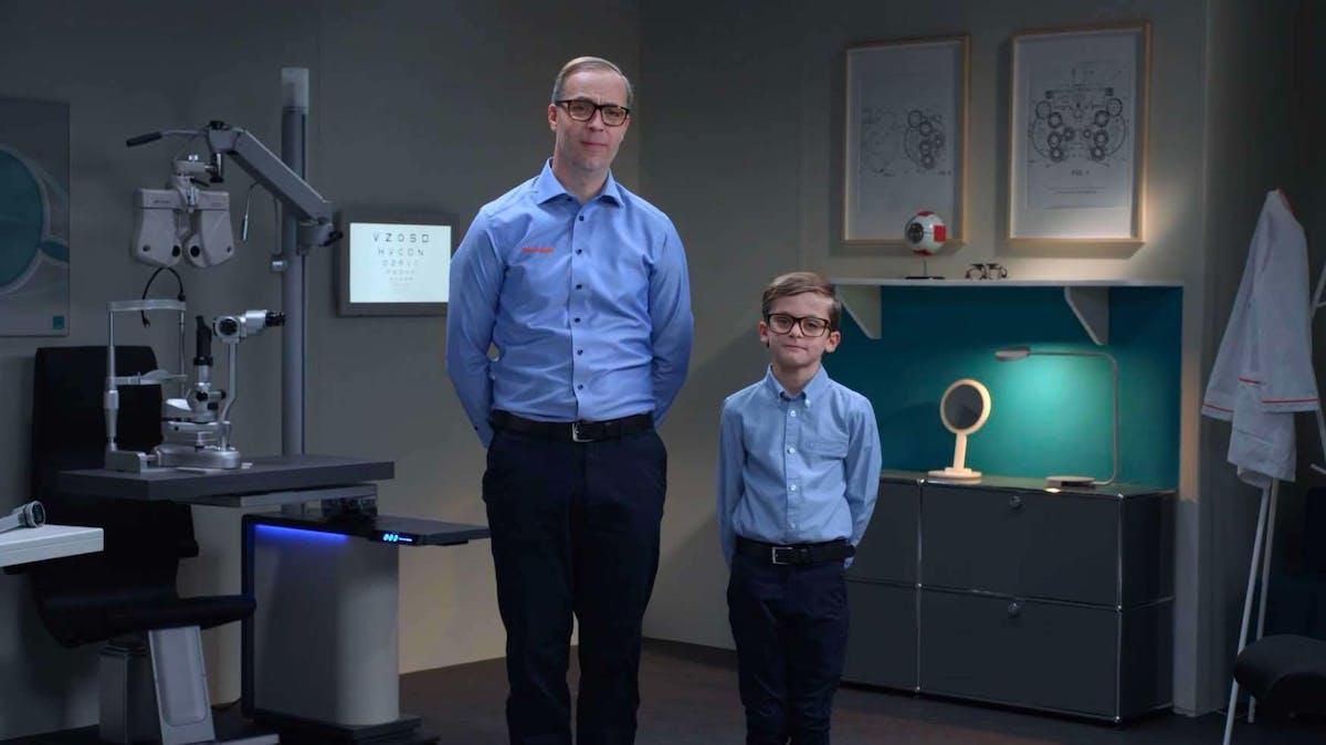Interoptiker og sønn