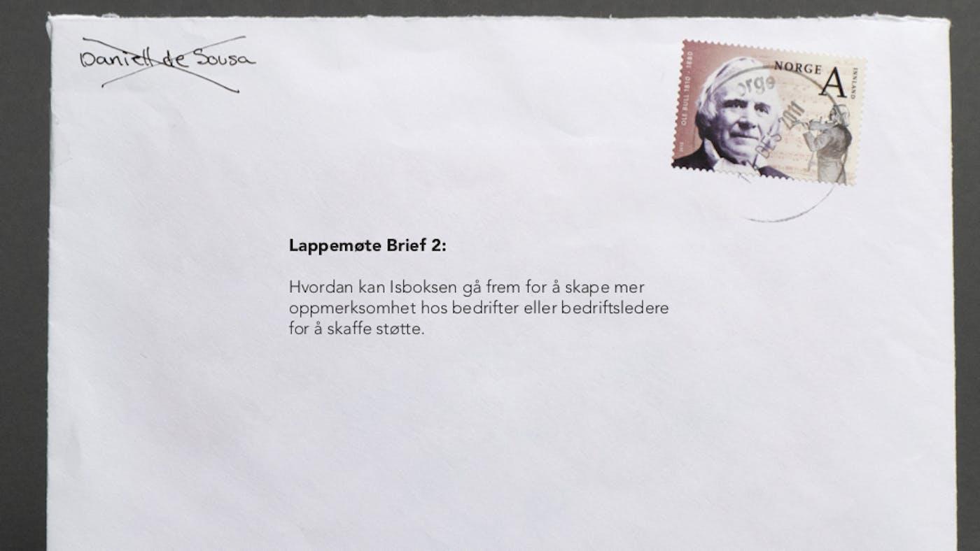 Isboksen Brief 2 Daniell de Sousa