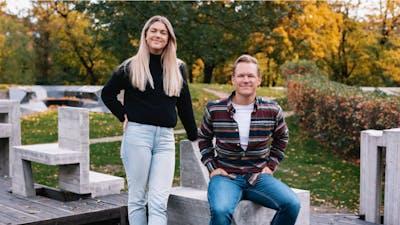 Julie Kjær og Lars Eia Kirkholm