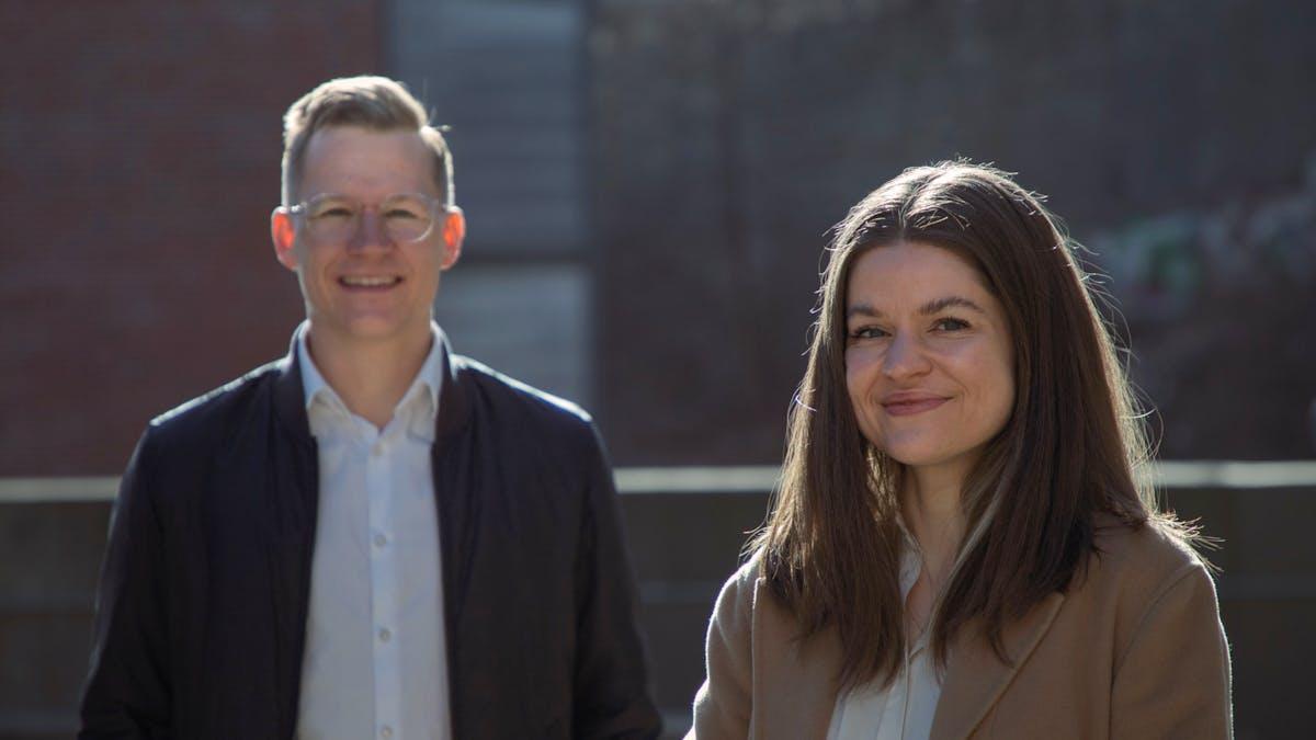 Kaja Spjelkavik og Lars Eia Kirkholmx