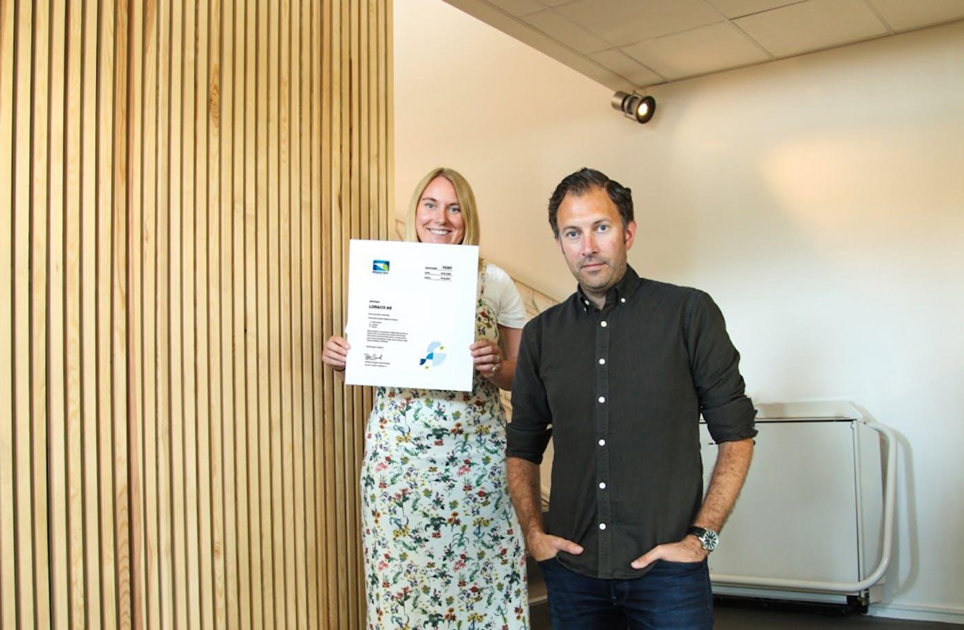 Los Co Bård Skjørtorp og Anniken Gauslaa