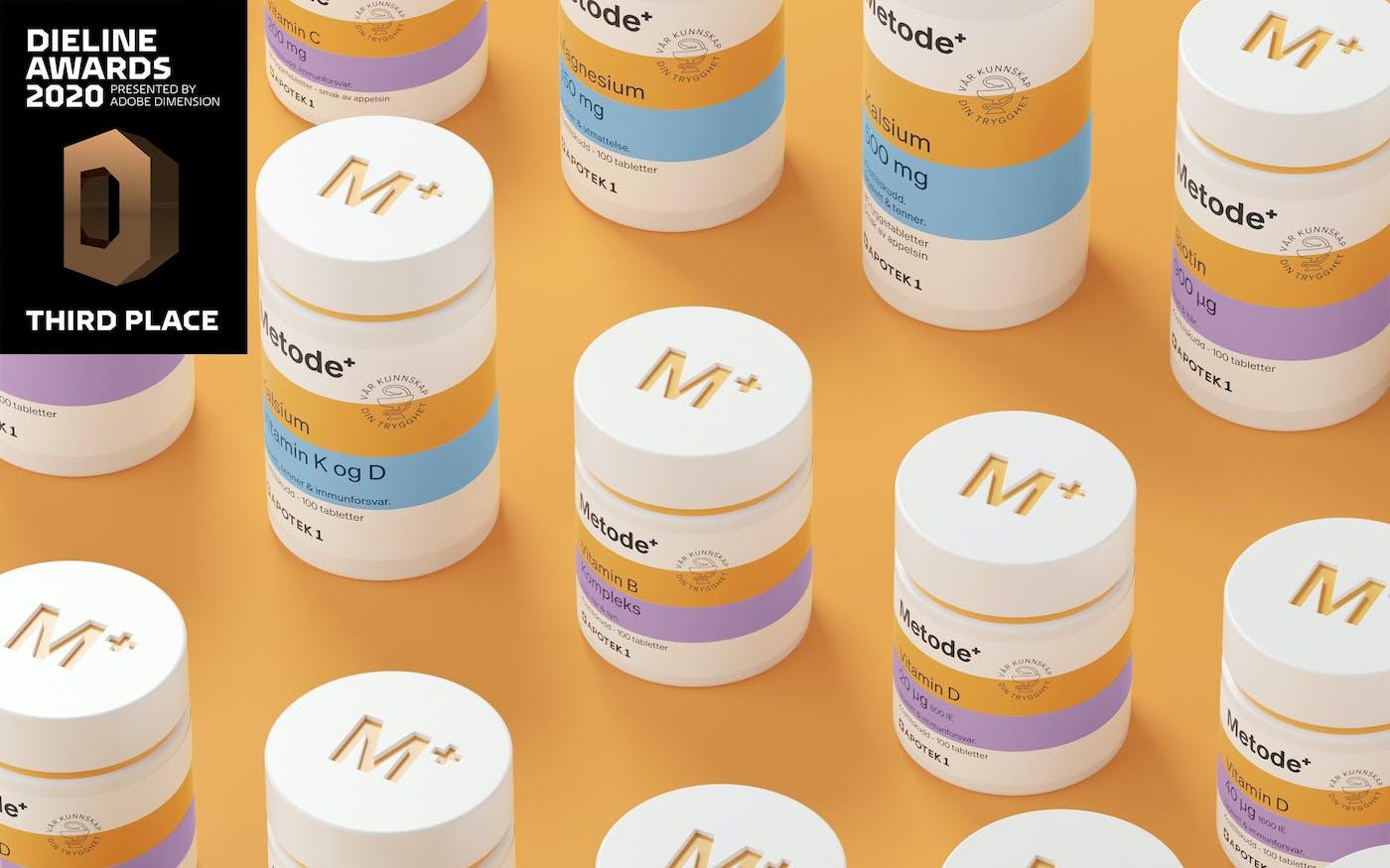 Metode by Goods Vitamin Lids