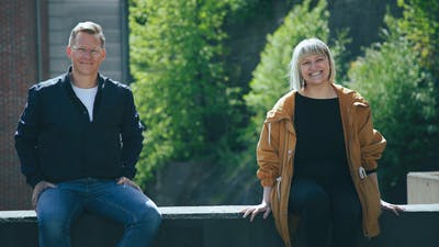 Rebecca Egebjerg og Lars Eia Kirkholm