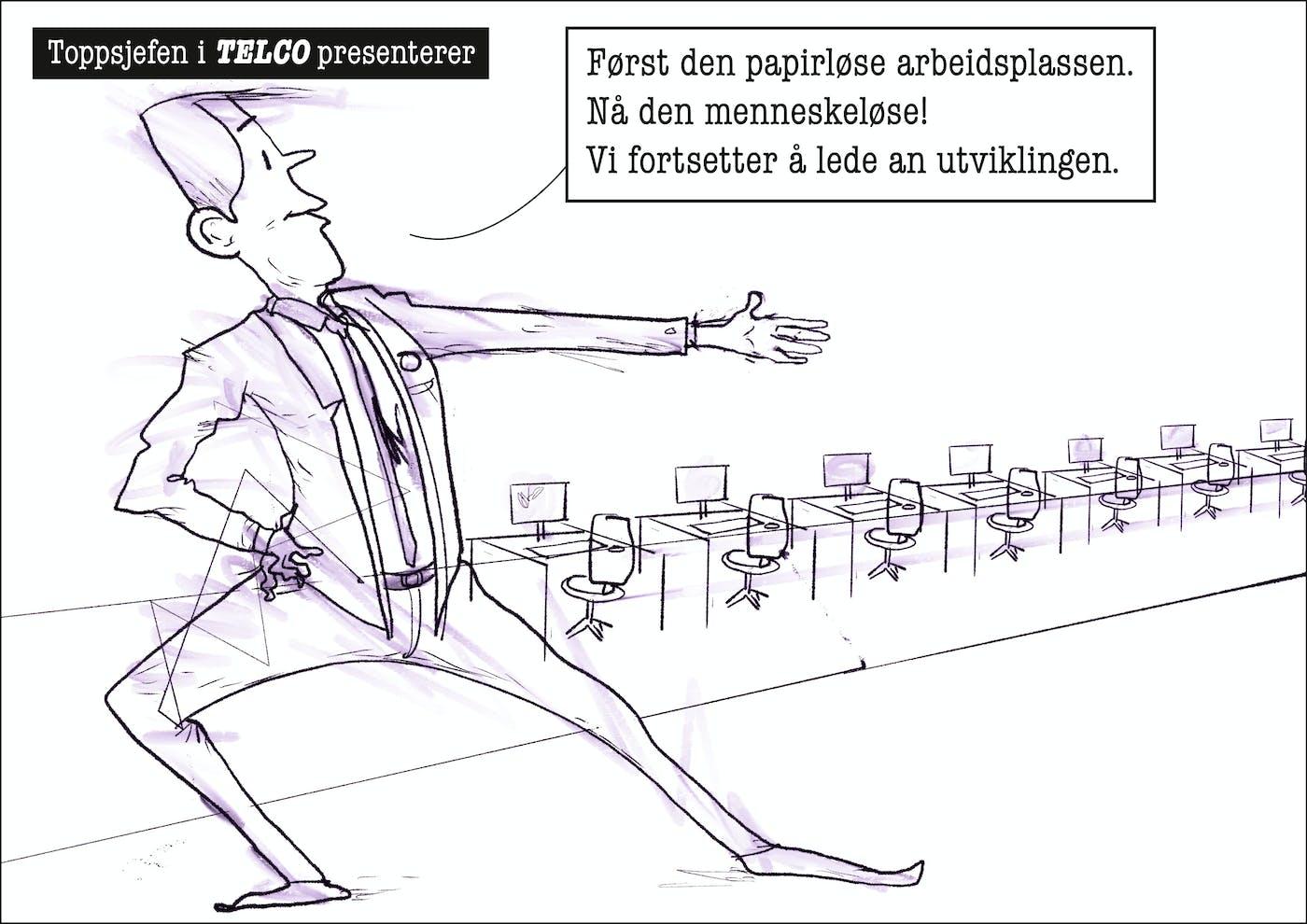 Telco Et Bransje Liv