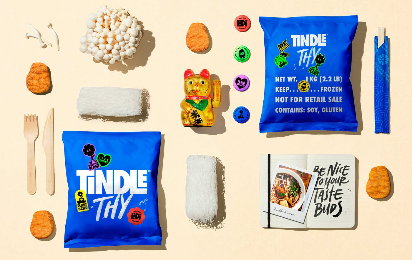 Tindle collage