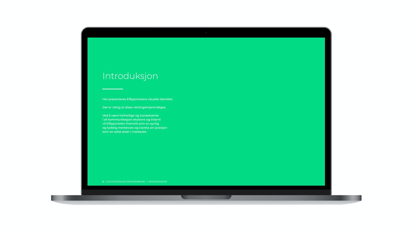Elflyportalen designmanual introduksjon