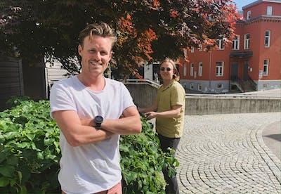 Sebastian Rach og Mads Krogh.