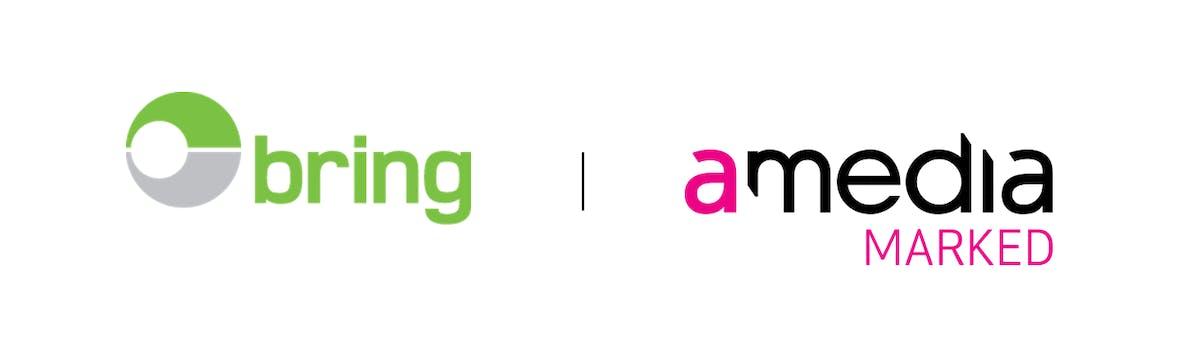 Logo bring og amedia sammen