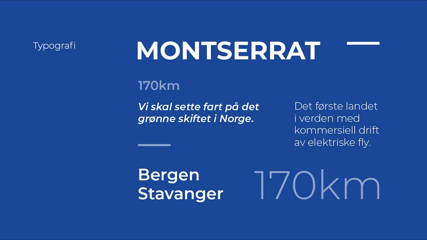 Startnorge typografi